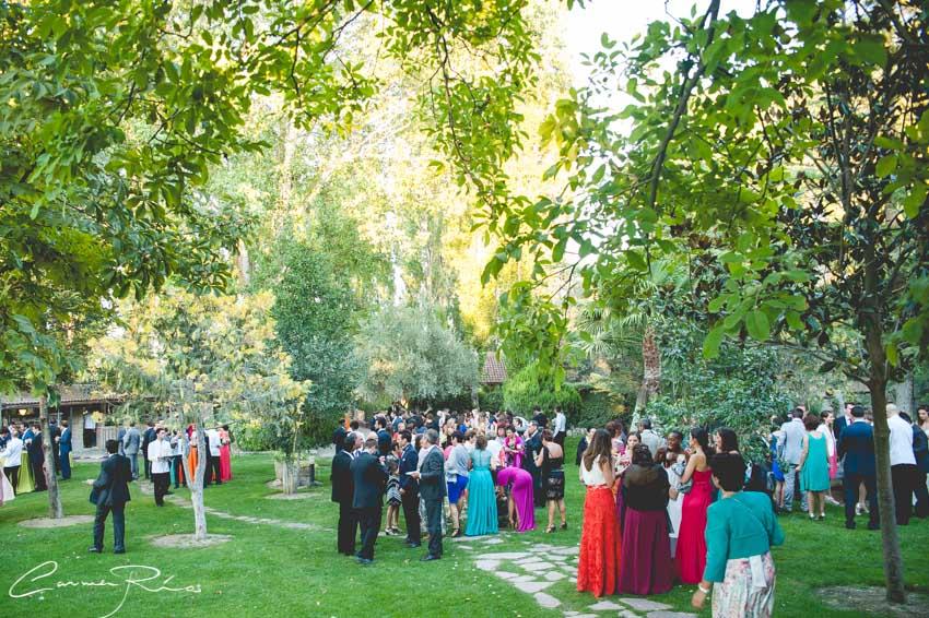 Boda en jardin el botero carmen rios reportajes de bodas for Jardin el botero