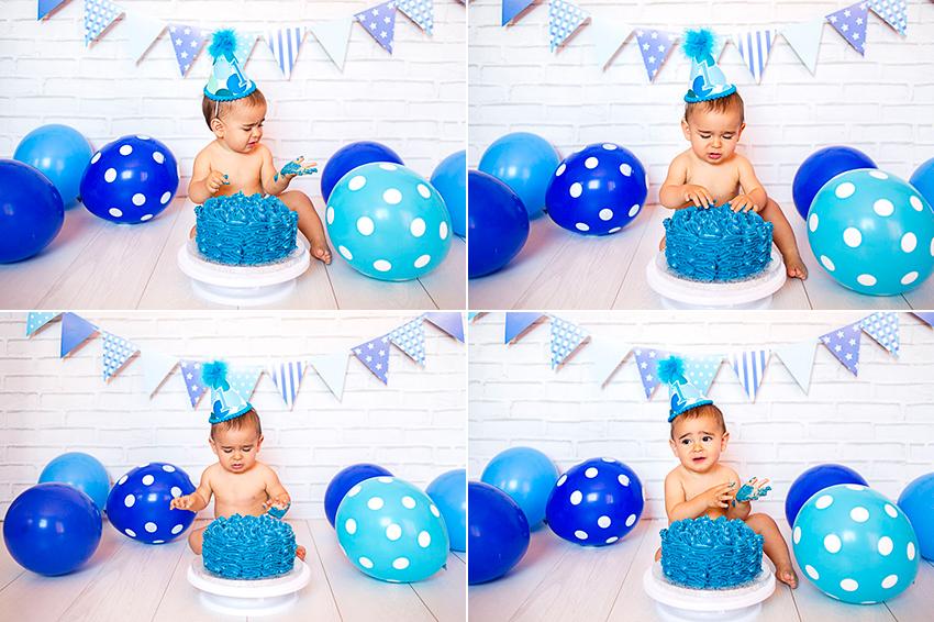 fotos smash cake